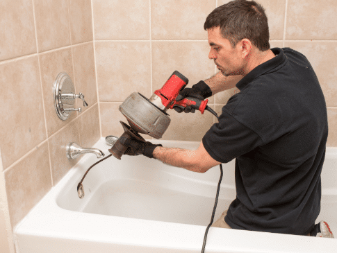 how to use a drain snake arlington tx